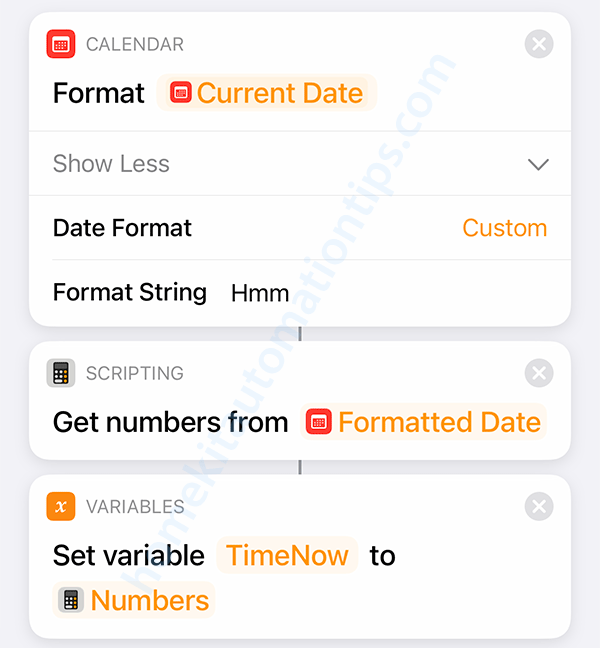 Format Date to number